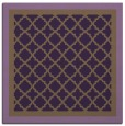 rug #862531 | square purple traditional rug