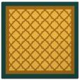 rug #862611 | square light-orange borders rug