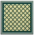 rug #862615   square yellow geometry rug