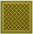 rug #862619 | square light-green borders rug