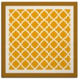 rug #862635 | square light-orange borders rug