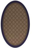 rug #862746 | oval borders rug