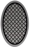 rug #862803 | oval traditional rug