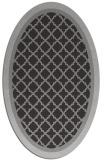 rug #862822 | oval borders rug