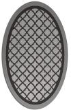 rug #862840 | oval traditional rug