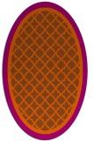 rug #862899 | oval geometry rug