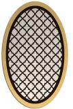 rug #862939 | oval traditional rug