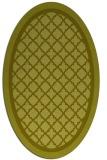 rug #862956 | oval borders rug