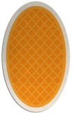 rug #862979 | oval light-orange traditional rug