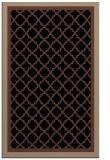rug #862987 |  brown traditional rug