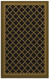 rug #862991 |  black borders rug