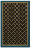 rug #862999 |  mid-brown borders rug
