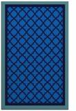 rug #863003 |  blue borders rug