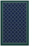rug #863011 |  blue borders rug