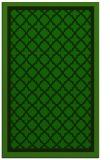 rug #863031 |  green borders rug