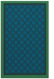rug #863039 |  blue borders rug