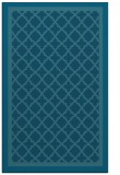 rug #863043 |  blue-green traditional rug