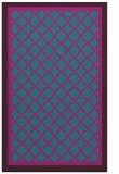 rug #863055 |  blue-green geometry rug