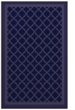 rug #863059 |  blue-violet borders rug