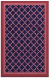rug #863067 |  blue-violet rug
