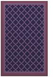 rug #863071 |  purple rug