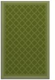 rug #863091 |  green borders rug