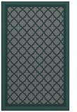 rug #863095    green traditional rug