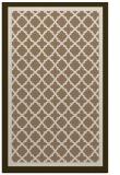 rug #863115 |  mid-brown borders rug