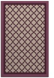 rug #863123 |  pink traditional rug