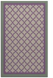 rug #863147    purple borders rug