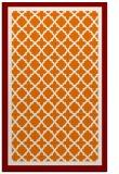 rug #863167    orange borders rug