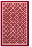 rug #863187 |  pink geometry rug