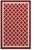 rug #863219 |  red geometry rug