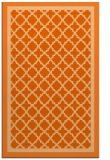 rug #863231 |  red-orange borders rug