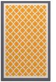 rug #863319 |  light-orange borders rug