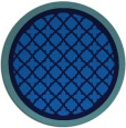 rug #863339   round blue rug