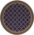 rug #863415 | round beige borders rug