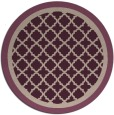 rug #863460 | round traditional rug