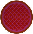 rug #863559 | round pink borders rug