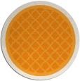 rug #863651 | round light-orange borders rug