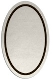rug #873451 | oval brown rug