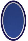 rug #878531 | oval blue-violet rug