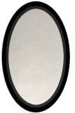 rug #878699 | oval plain white rug