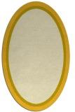 rug #878723 | oval plain yellow rug