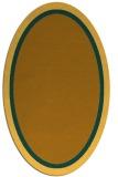 rug #878740 | oval plain rug