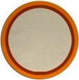 rug #879131 | round beige borders rug