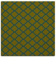 rug #879915 | square green traditional rug