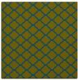 rug #879915 | square blue-green popular rug