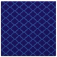 rug #879939 | square blue-violet geometry rug