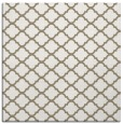 rug #879983 | square white traditional rug